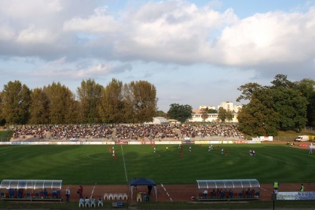 Stadion przy ulicy Zamkowej, fot. UM w Raciborzu